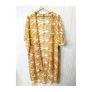 Kimono coverup boho